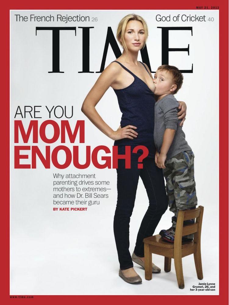 naslovna time magazin dojenje