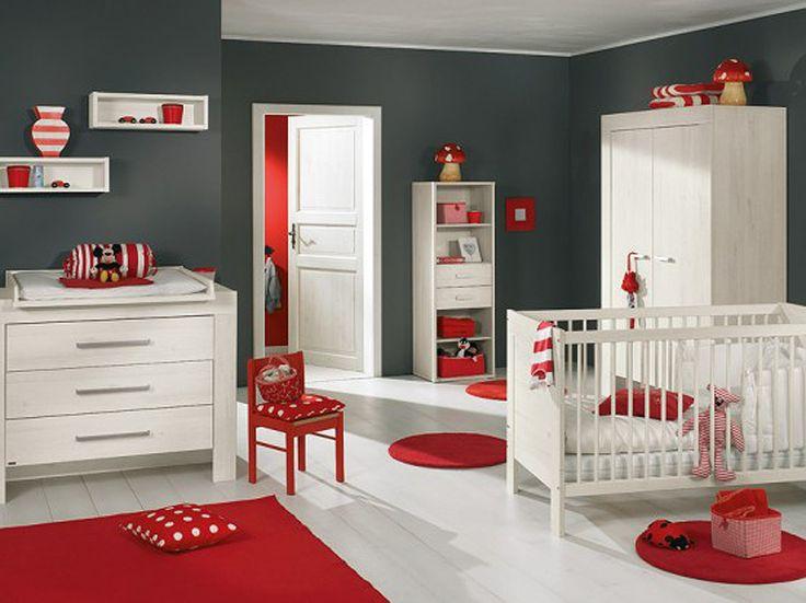 crvena soba za bebe