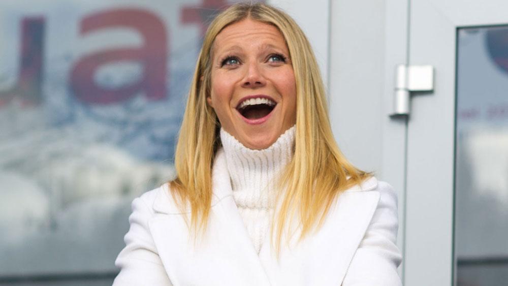 gwyneth paltrow iznenadjena