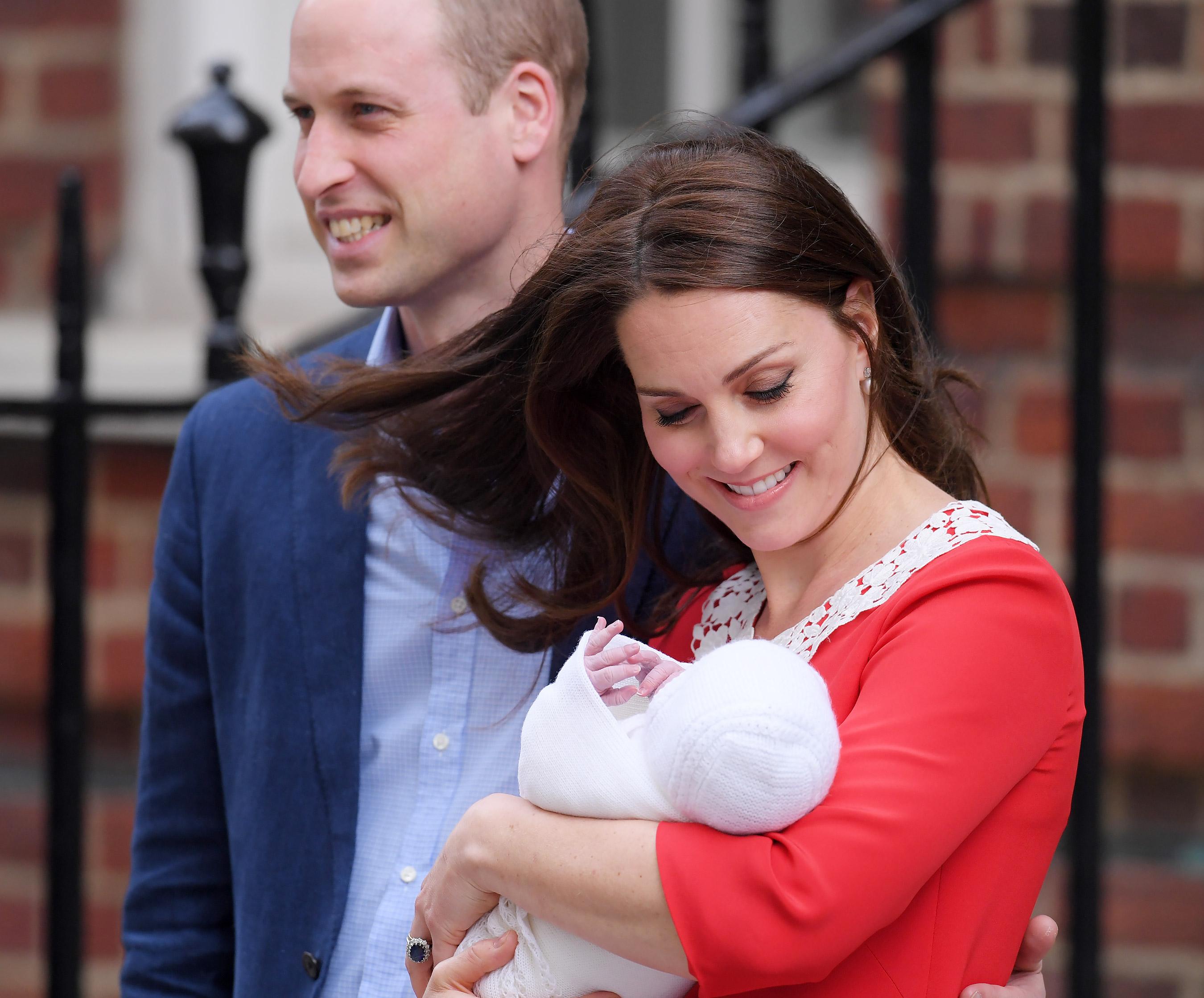 kaate Middleton rodila