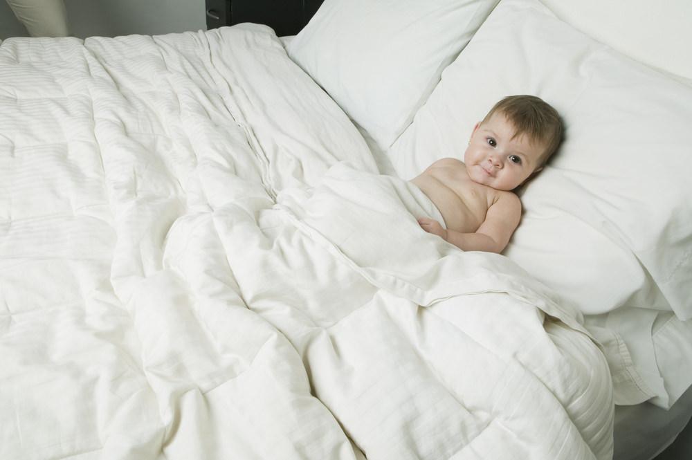 spavanje beba ljeti