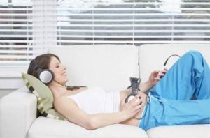 klasična muzika u trudnoći