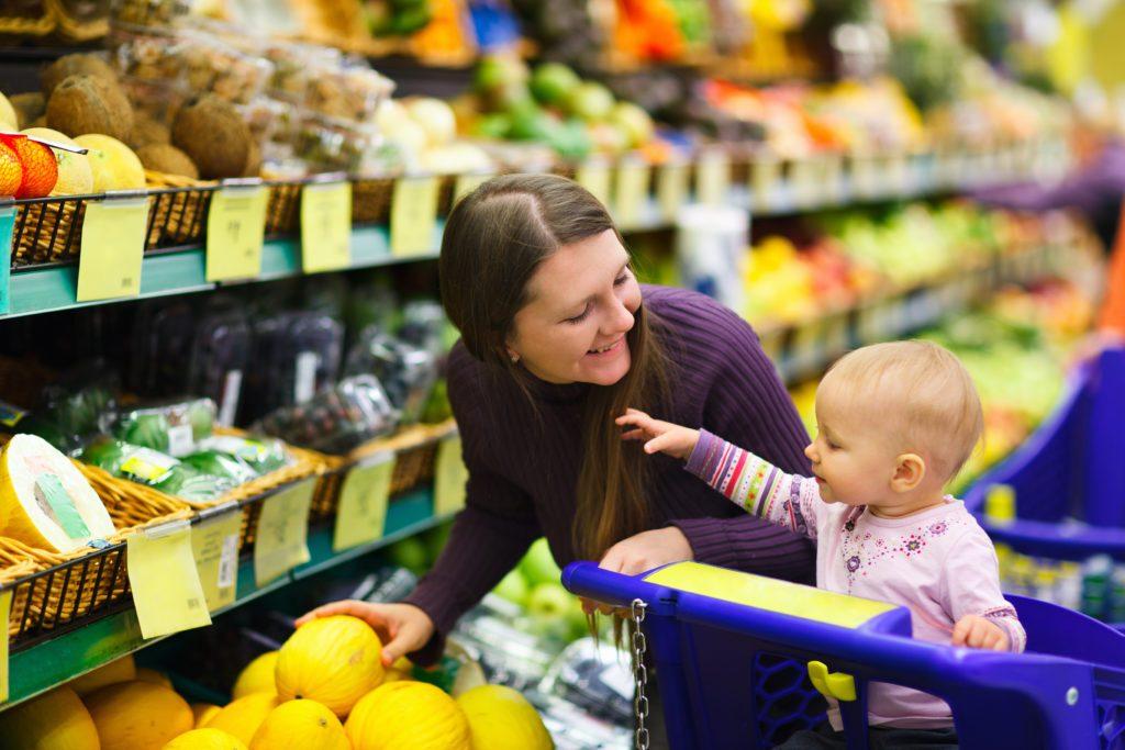 kupovina sa djecom