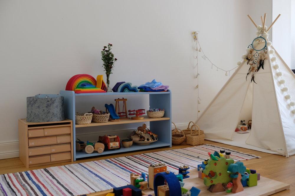 montessori uređenje sobe