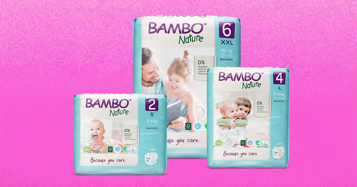 danske pelene bambo nature