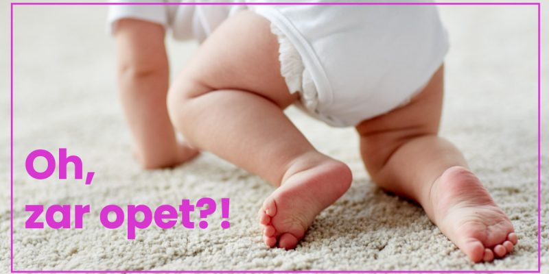 bebe pelene problemi